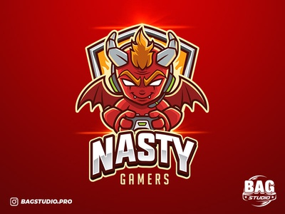 Red Devil Gamer Esport Logo