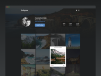 Instagram Web Redesign