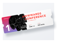 Awwwards Conference Ticket GIVAWAY