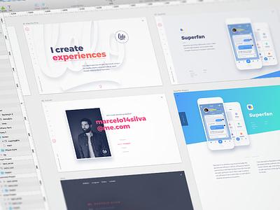 Portfolio Site projects case study update designer branding personal user interface site web design web website portfolio
