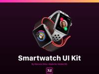 Smartwatch ui kit 2x