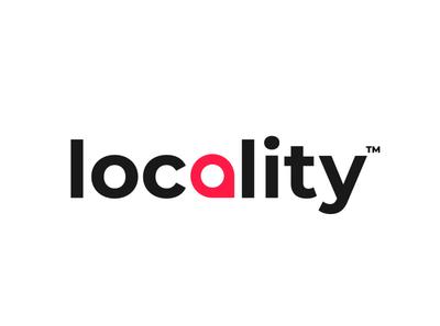 Locality Logomark brand identity branding design flat minimal illustrator logo design logo design branding