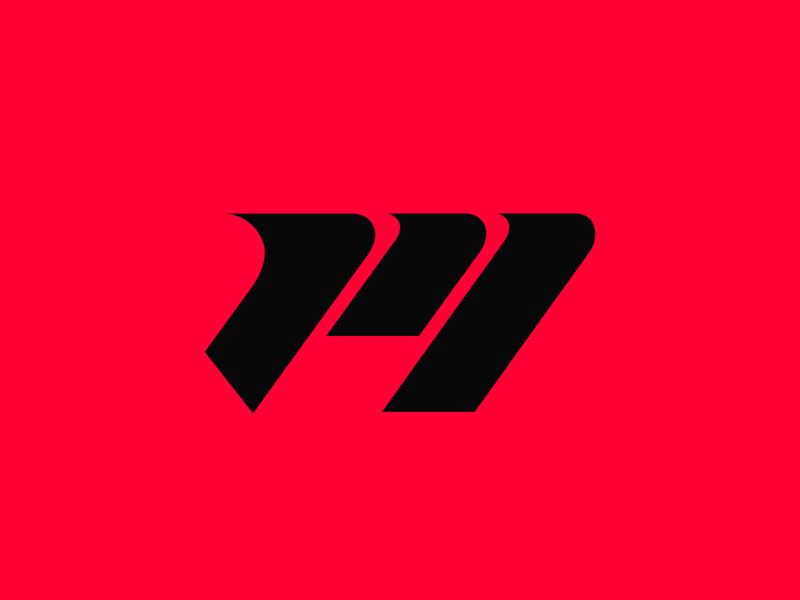 Claw + M illustrator minimal logo design gaming logo branding concept graphic design logos esports logo gaminglogo gaming esports design clean logo branding design brand branding