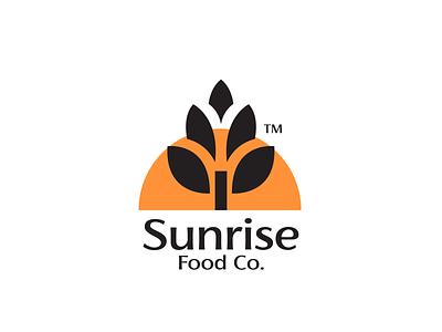 Sunrise Food Co. Logo logoset logos branding design logotype brand identity illustrator brand minimal design logo design logo branding