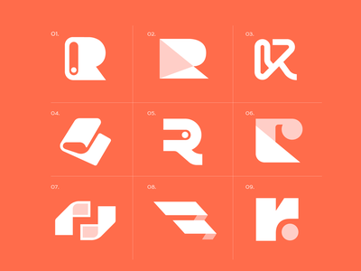 R Concepts logodesign logos letterlogo letter vector ui illustration illustrator brand minimal design logo design logo branding