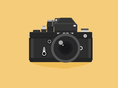 Vintage Camera retro design analogue 35mm picture photographer antique art classic equipment style photography background lens film analog retro photo vintage old camera