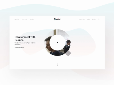 Qusion website update