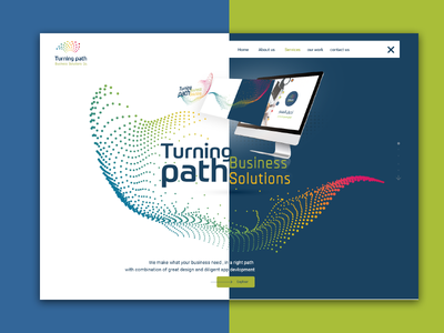 Huge Banner for tuning path website