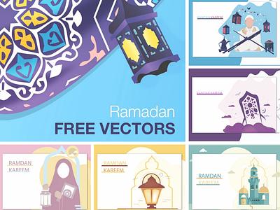 Ramdan free package packadge iftar happy islamic vector free islam ramadan