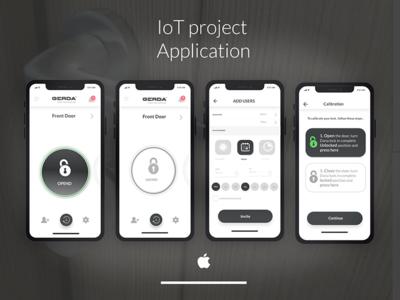 Iot project app