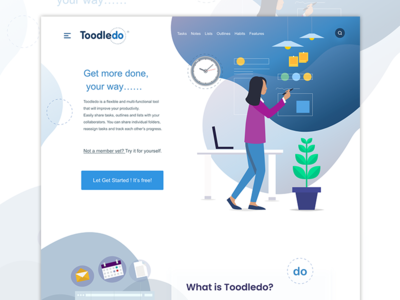 To-do landing page