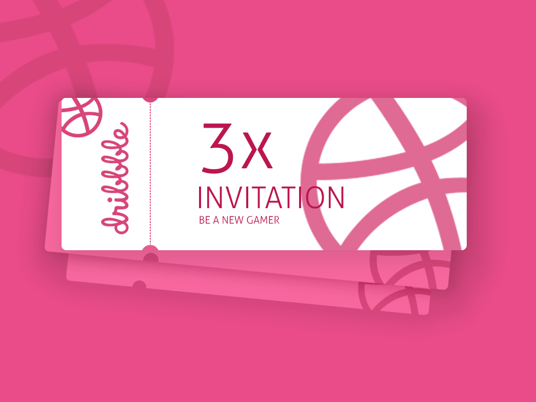 Invite Dribble player 3invite dribbble invite