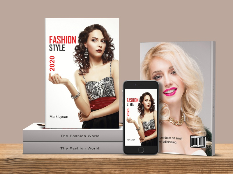 Fashion Book Cover Design