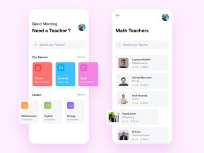 Find Private Teachers