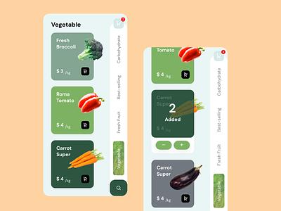 Food Marketplace vegetable fruit ecommerce app ecommerce food marketplace mobile app
