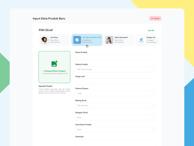 Add New Product form design product create new field input business marketplace ui ux dashboard ecommerce form field form