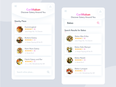 Search Eatery Preview