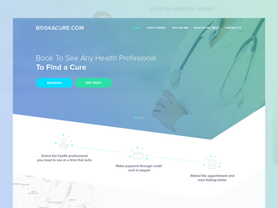 Book Health Profesional To Find A Cure
