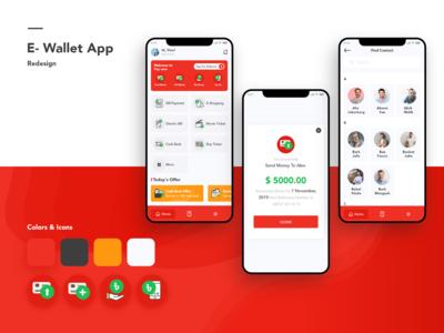 e-Wallet Mobile App
