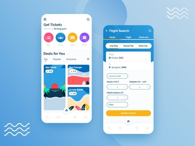 Booking and Ticketing app