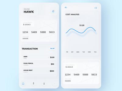 Design Experiment: Skeuomorph E-wallet App