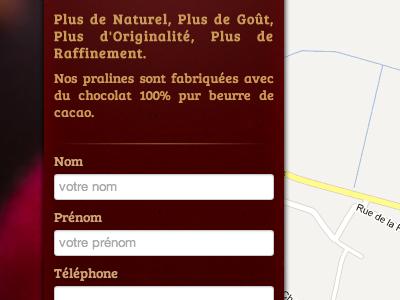 Minimalist Website Layout ui web css texture
