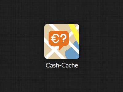 Cash-Cache App Icon icon app mobile