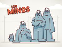 MINOS / Cartoon illustration