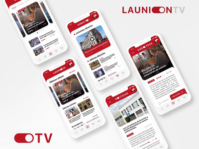 UI Design LAUNION.TV