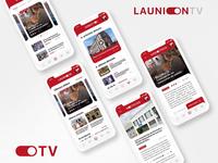 UI Design LAUNION.TV