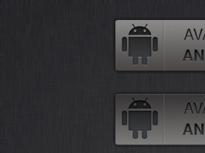 Android Badge android icon glow colour badge psd free