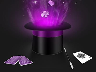 Magic Cards magic cards splash screen magic playing cards iphone ui app