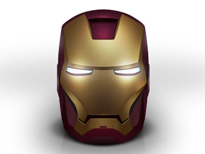 Iron Man Mask icon marvel iron man photoshop mac