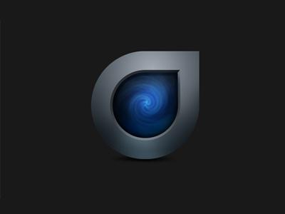 Droplr Dribblre icon mac droplr blue black