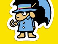 Rainpuppy Sticker