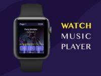 Watch Music Player