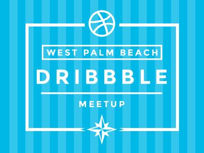 Dribbble Meetup for West Palm Beach, Florida meetup meet up invite 561 web west palm beach