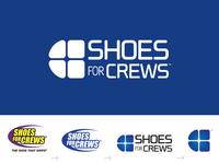 Shoes For Crews logo evolution