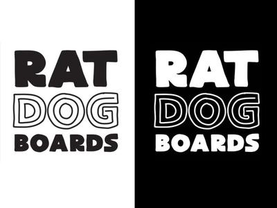 Ratdog logo design