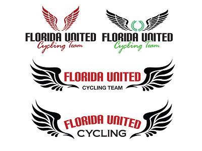 Florida United Cycling team sports bikes bicycle cycling bike shop branding irl logo identity