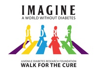 JDRF - walk for the cure illustration / t-shirt