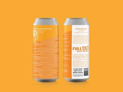 Beer Label Design for Full Tilt Brewing
