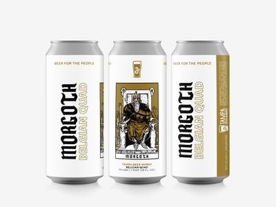 Morgoth Label Design for Tampa Beer Works