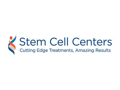 Stem Cell Centers Rebranding 2016 rebranding branding icon science dna medical design logo