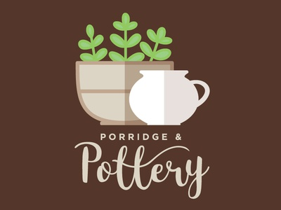 Porridge & Pottery Logo
