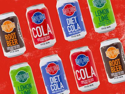 Seattle Soda Branding & Product Design branding graphic design