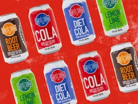 Seattle Soda Branding & Product Design