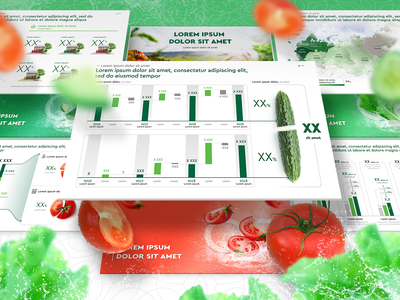 Slides with vegetable visualisation example illustraion tomatoes powerpoint design 3d powerpoint keynote keynote presentation infographics ppt icon slides presentation design
