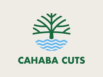 Cahaba Cuts Brand Identity logo designer logomaker logo mark branding design branding agency brand identity design illustrator logodesign graphic design brand identity logo illustration design branding
