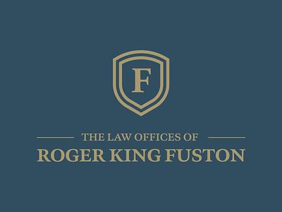 Roger King Fuston Logo visual identity branding and identity logo rebrand logo designer branding design brand identity design branding agency brand identity logo design graphic design branding rebranding rebrand